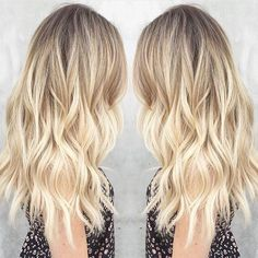 Sunkissed sparkle by @msmorganashley #blonde #balayage #ombre | Get featured: #modernsalon by modernsalon
