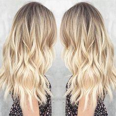 Sunkissed sparkle by @msmorganashley #blonde #balayage #ombre | Get featured: #modernsalon by modernsalon