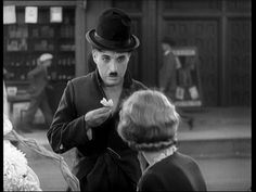 City Lights (Charlie Chaplin, 1931) by puppetmister, via Flickr