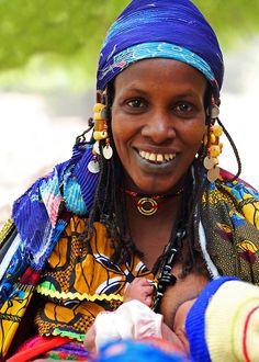 Africa   Fulani mother and child.  Ivory Coast   ©Tamara S. Gentuso