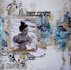ML Design: Ink, Paint, Stamp & Paper Bliss: A Page Just for Fun