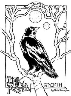 Chris Kawagiwa | sketchboy01: The Ink Raven
