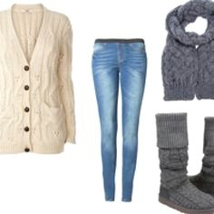 Winter school outfits