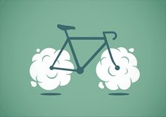 #logoinspiration #logodesign #illustration (Hoverbike by Philip Laibacher, via Behance)