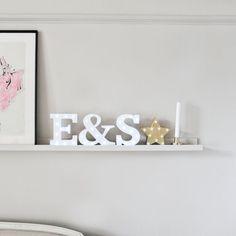 Home Decor Inspiration | Up In Lights Light Up Letters | www.upinlights.co.uk