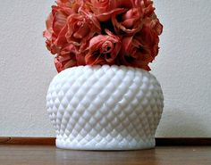 Vintage Westmoreland Milk Glass English Hobnail by ClassicMemories, $15.00