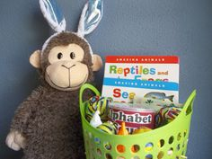 Ideas for Eli's No-Candy Toddler Easter Basket