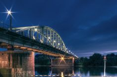 John Frost bridge I, Arnhem, the Netherlands