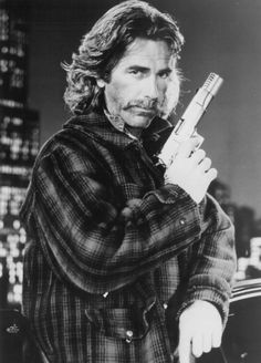 Sam Elliott Then-----------He looks SEXY even in a fur,-----------LOVE THIS PIC,