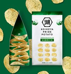 #packaging #design #package #food Chip Packaging, Packaging Snack, Pouch Packaging, Bakery Packaging, Veggie Chips, Potato Chips, Potato Snacks, Japanese Packaging, Packaging Design Inspiration
