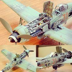 Focke-Wulf Fw190D-9 (Tamiya)