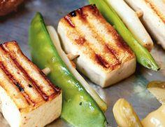 Thai Lemongrass Tofu Skewers from Vegetarian Times Tofu Recipes, Vegetarian Recipes, Cooking Recipes, Healthy Recipes, Delicious Recipes, Cooking Tips, Healthy Snacks, Tofu Dishes, Vegan Dishes