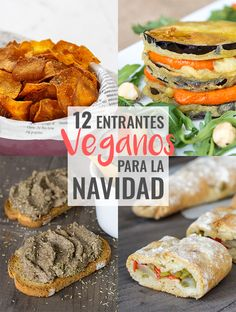 15 Vegan Starters for Christmas 10 vegan appetizers for Christmas Raw Food Recipes, Veggie Recipes, Vegetarian Recipes, Healthy Recipes, Healthy Meals, Aperitivos Vegan, Vegan Starters, Vegan Party Food, Vegan Appetizers