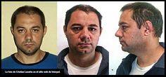 La foto de Cristian Lanatta en el sitio web de Interpol