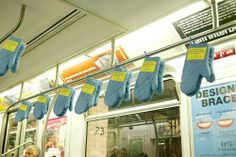 Отново интересна реклама в метрото - този път на IKEA