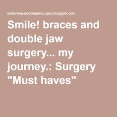 Liquid diet recipes for jaw surgery surgery recipes and soft foods smile braces and double jaw surgery my journey surgery soft food dietssoft foodsjaw forumfinder Gallery