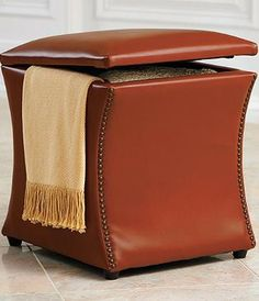 29 Best Leather Ottoman With Storage Images Ottoman
