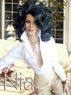 Nia pretty white blouse