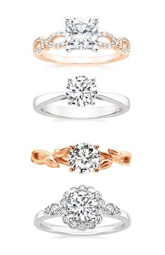 Do I only get to have one engagement ring? I love them all!