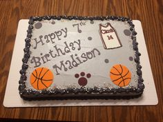 Birthday cake 🏀🏀
