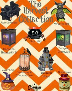 Our new Harvest collection! I love all of these! http://michelleosbone-pelham.scentsy.us/
