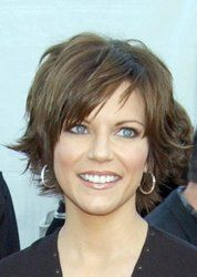 What I usually go for. Martina McBride short hair