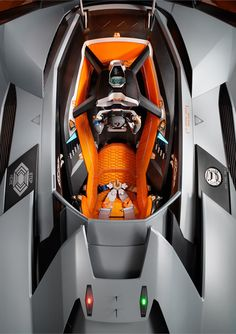 Futuristic Car, Lamborghini Eqoista - Interior. This prototype car is insane.