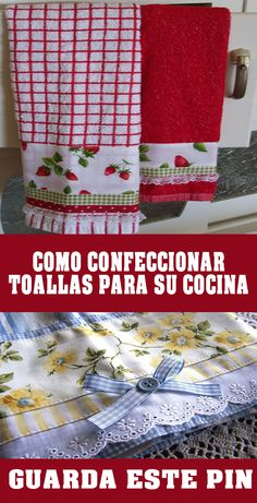 Dish Towels, Tea Towels, Sewing To Sell, Hot Pads, Hobbies And Crafts, Table Runners, Couture, Ideas Para, Pot Holders