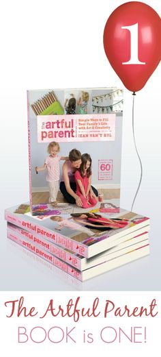 Happy 1st Birthday to The Artful Parent! Jean is celebrating with a giveaway, so check out her site to win a copy!