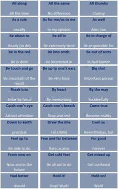 The most frequent collocations in spoken English - learn English,expressions,eng. English Tips, English Fun, English Writing, English Study, English Lessons, English Phrases, English Words, English Grammar, English Language Learning
