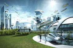 What a city of the future might look like