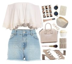 """""""Untitled #2416"""" by tacoxcat ❤ liked on Polyvore featuring Givenchy, Accessorize, Steve Madden, Zoya, Christy, Christian Dior, Rebecca Taylor, Retrò and Fresh"""