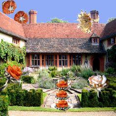 Silvia Kelly Gioielli www.quelchevale.it - nice garden