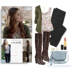 Lydia Martin in 5x02 Parasomnia by saniday on Polyvore featuring mode, Frenchi, Madewell, Nanette Lepore, Kimchi Blue, Wanderlust + Co, River Island and Revlon