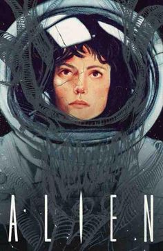 Alien: Ripley, an art print by Sarah Gonzales I Love Cinema, Cinema Tv, Cinema Posters, Science Fiction, Alien Film, Alien 1979, Alien Art, Plakat Design, Aliens Movie