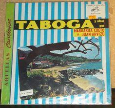 Margarita Cueto Y Juan Arvizu Taboga Y Otras Vinyl by RASVINYL