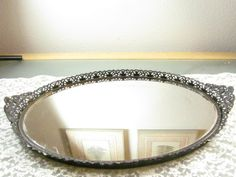 Older Vintage/ Antique Vanity Mirror/ Mirrored by Shabbychicgems