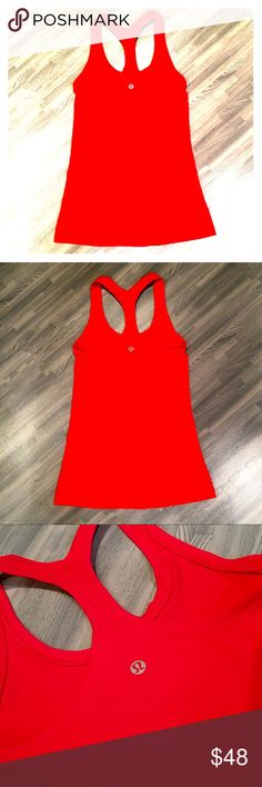 NWOT Lululemon Modern Racerback 4 ✔️worn one time / shoes no sign of wear. ✔️washed cool gentle cycle & hung to dry ✔ships same day (pending payment) from smoke & pet free home ✔️see pictures for add'l info lululemon athletica Tops Tank Tops