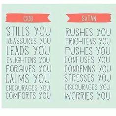 God stills you