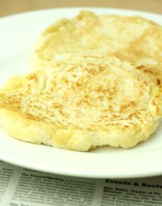 Coconut Flour Flatbread (Low Carb/Paleo/Vegan/Low Calorie/Easy)