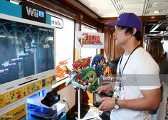 Actor Bob Morley attends The Nintendo Lounge on the TV Guide Magazine yacht…