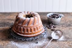 A simple and delicious recipe for Chestnut Cream Bundt Cake with Chocolate Chips. A recipe using Clément Faugier Chestnut Cream.