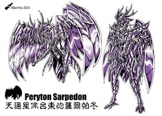 Peryton Sarpedon by ABottle Stranger Things, Demons, Website, Anime, Image, Characters, Character, Santos, Saint Seiya