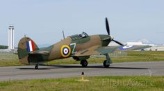 Flying Heritage Collection's Hawker Hurricane Mk XIIA (Ser