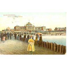 Scheveningen - Beach and Kurhaus 1907