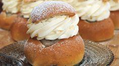 By Roy Fares - Mästerbagarens största fans Roy Fares, Cream Bun, Fika, Sweet Bread, Afternoon Tea, Semlor, Delicious Desserts, Cravings, Food To Make