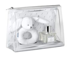 The ideal and most delicate gift set for newborn babies, perfect for baby showers.  It includes:  a delightful Stuffed Bunny, and an alcohol-free scented water (50ml) with fresh and elegant notes, which respects baby's skin Hypoallergenic, with 90% natural ingredients and enriched with thermal water and moisturising agents, the Jacadi Paris Alcohol-free Scented Water is ideal not only for skin, but also for clothes, linen, and baby's bedroom. Birth Gift, Baby Birth, Alcohol Free, Castor Oil, Fragrance, Delicate, Newborn Babies, Baby Showers, Bunny