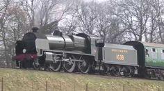 Southern Railway U class  steam locomotive No. 1638