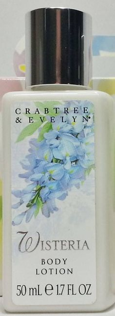 Crabtree & Evelyn The Original Wisteria Body Lotion Travel