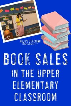 If you're looking for a way to increase student engagement, get your kids reading more, AND help your kids have fun - you're going to love doing BOOK SALES. These work great in the upper elementary classroom, but I could see them easily being adapted for 5th Grade Classroom, Middle School Classroom, High School, Classroom Ideas, Kids Reading, Teaching Reading, Teaching Ideas, Reading Books, Guided Reading